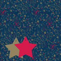 Christmas Patterns Flat Wrap Duo
