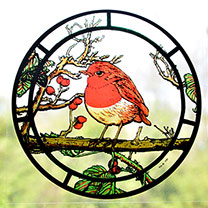Window Robin Cling