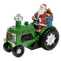 LED Green Tractor