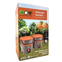 Bokashi Kitchen Waste Composting Kit - 2 Buckets, Container and 1kg Bran