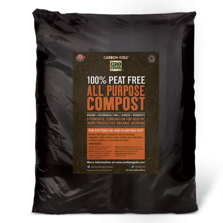 Carbon Gold GroChar® All Purpose Compost