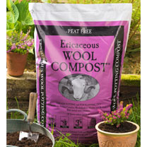 Ericaceous Wool Compost - (2 Bags)