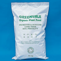 Greenvale Plant Food - 25kg