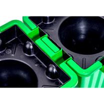 Oasebox Self Watering Planter - Green x 1