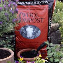 Wool Compost - 30 Litres