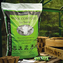 Wool Compost for Seeds - 12 Litre