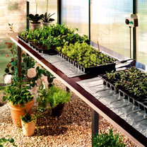 Propagation Heating Mats with Heat Control