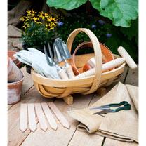 Traditional Wooden Trug - Medium