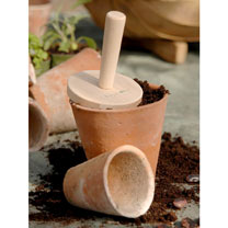Beech Seed Tray Tamper - Round