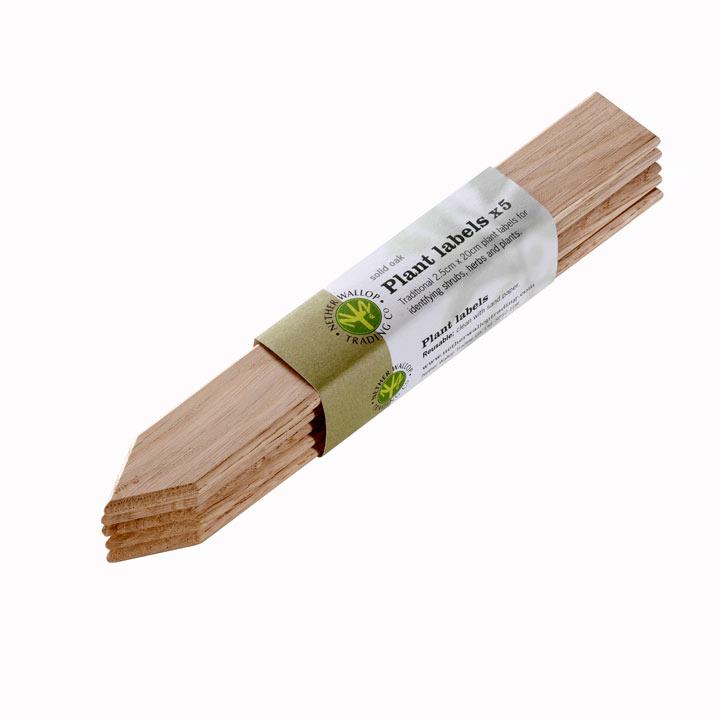 Oak Plant Labels