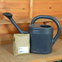 Comfrey Pellets / Comfrey Pellets + Recycled Watering Can