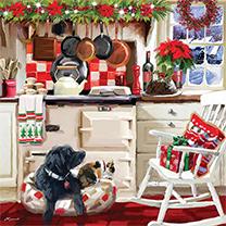 Christmas Kitchen Jigsaw
