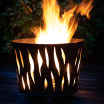 Metal Fire Bowl