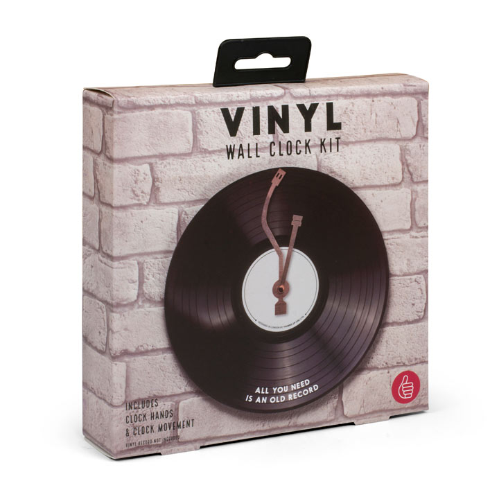 Vinyl Wall Clock Kit