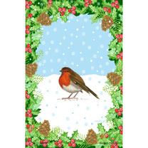 Christmas Tea Towel