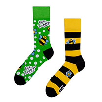 Bee Happy Socks (6-9)