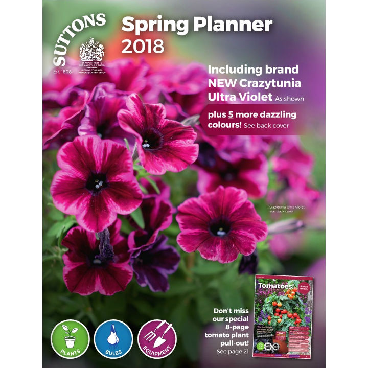 Suttons Spring Planner Catalogue 2018