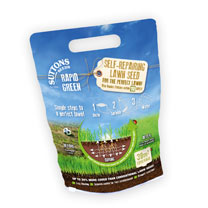 Rapid Green Self-Repairing Lawn Seed (Twin Pack)