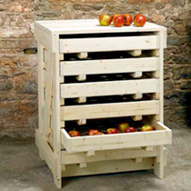Traditional Apple Storage