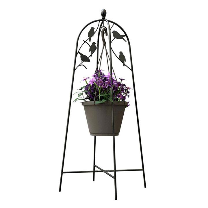 'Perching Bird' - Basket Hanger