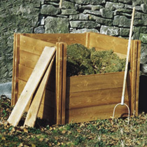 Modular Wooden Compost Bins