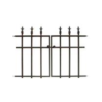 Panacea Classic Finial Fence - Gate