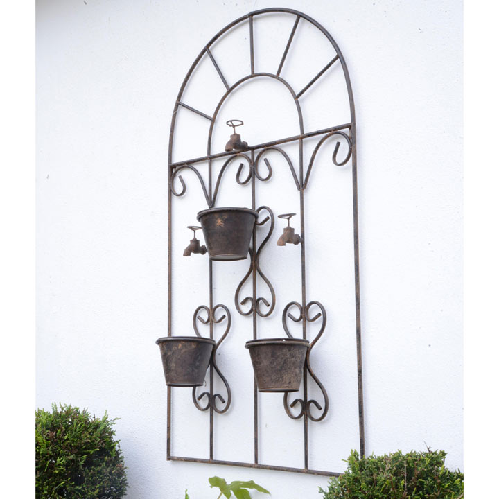 Wallhanger with 3 Flower Pots