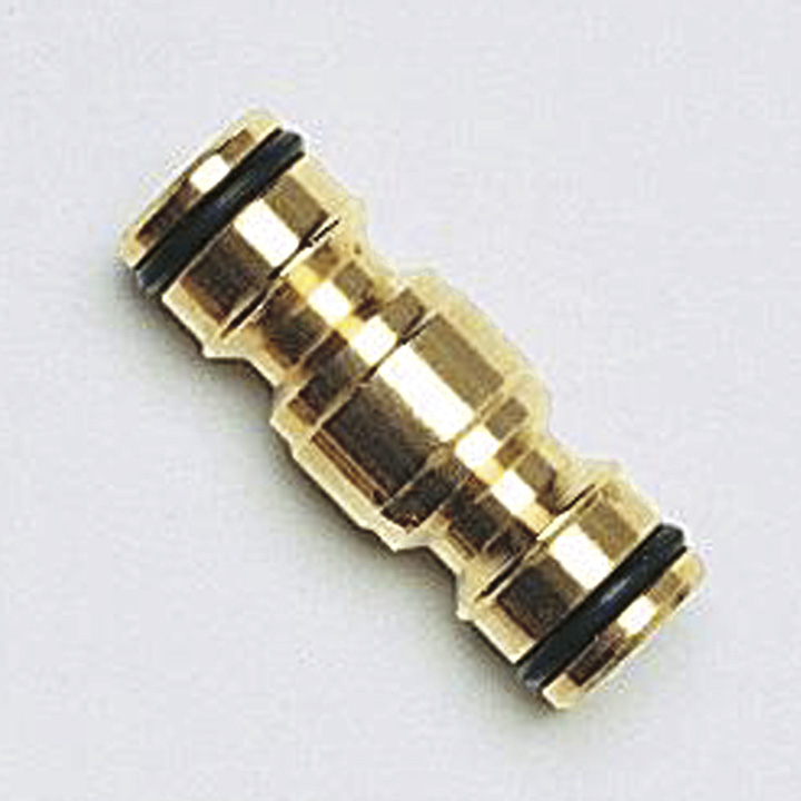 Brass Two-Way Hose Connector