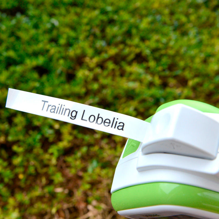 Handheld Garden Labeller Refill tape - black on green