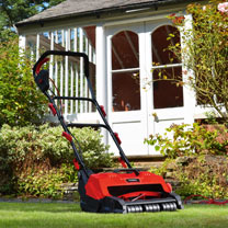 Image of Cobra 400w Cylinder Lawnmower with Split Rear Roller