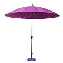 Parasol Geisha - Purple