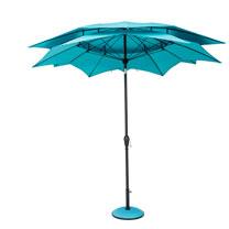 Parasol Lotus - Aqua