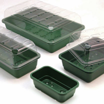 Windowsill Size Trays & Lids