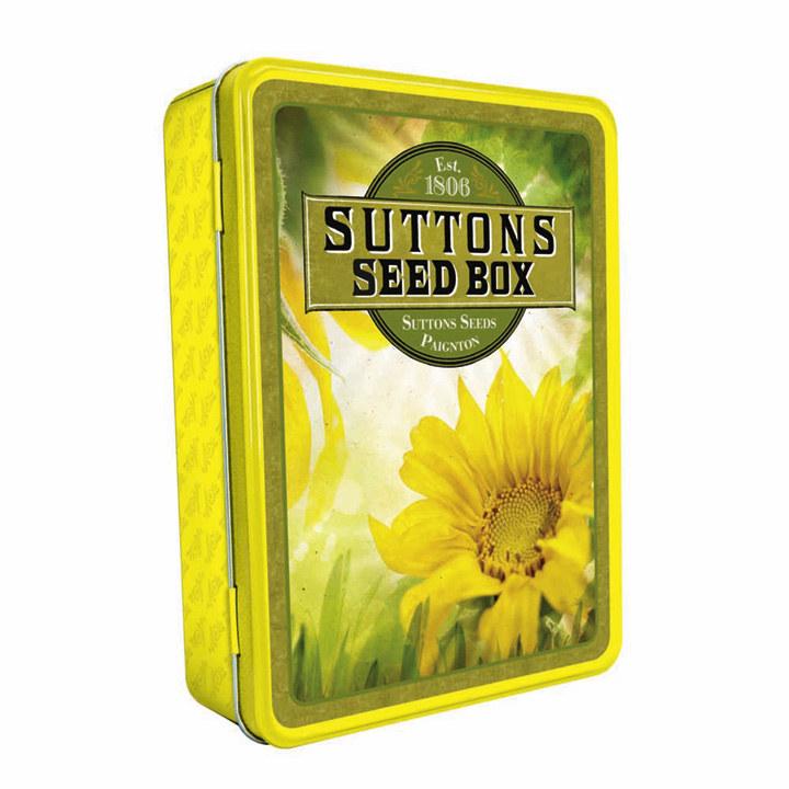 Sunflower Seed Storage Box