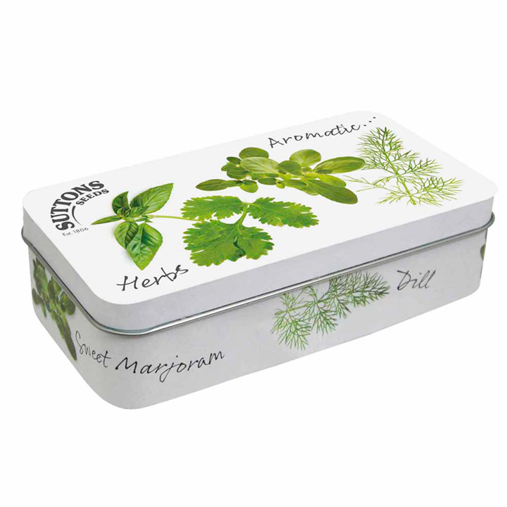 Collectable Seed Tin - Herb Design