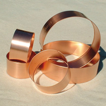Copper Slug Rings (Large)