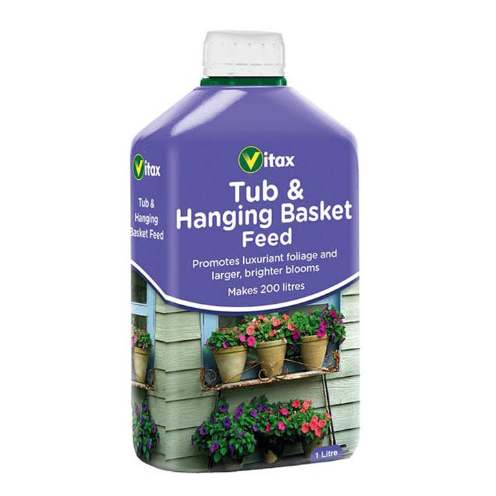 Tub & Hanging Basket Feed