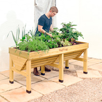 VegTrug x 1.8m PLUS FREE SEEDS - Natural