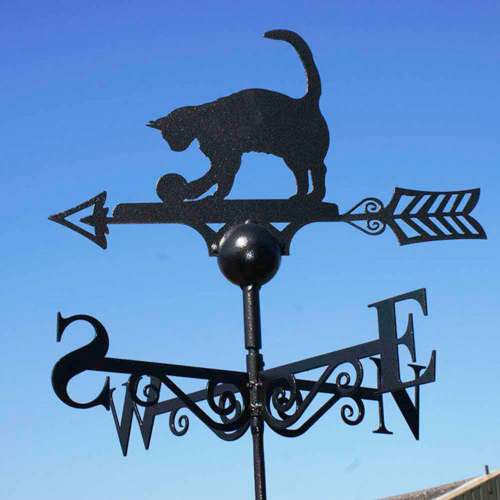 Weather Vane - Cat & Ball