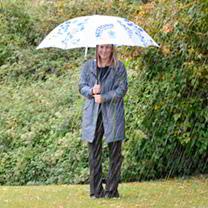 Suttons Branded Floral Walking Umbrella