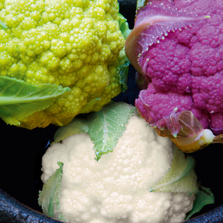Cauliflower Seeds - F1 Multi-Colour Mix