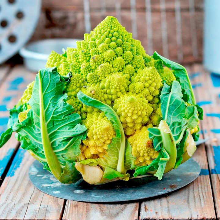 Cauliflower (Organic) Seeds - Romanesco