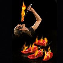 Pepper Chilli Seeds - Bhut Jolokia Fiery Furnace