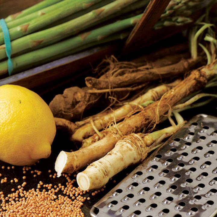 Horseradish Thongs (Roots)