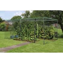 Economy Fruit Cage with Zip Net - Galvanised