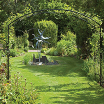 Monet Arch 1.2m with Patio Feet
